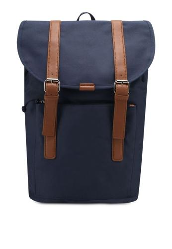 ZALORA navy Explorer Backpack 1707DZZ0861071GS_1