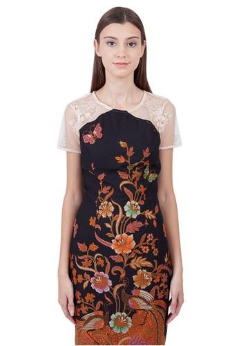 Mahogany Batik black NADITYA DRESS BROCADE CREAM 7E585AA0E1EC7FGS_1