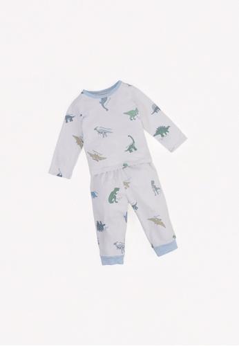 Gingersnaps multi Baby Boys Hiphop Pajama Set F337BKA320E8DDGS_1