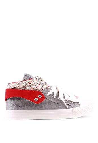 World Balance silver Sheen L Sneakers 09682SH3D65D79GS_1