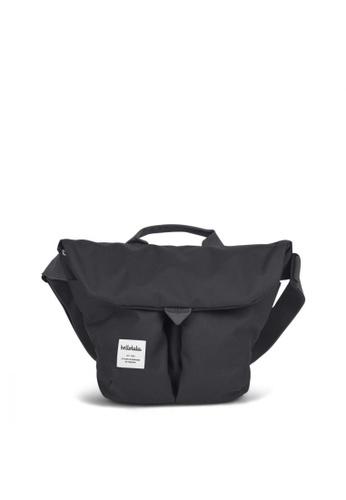 Hellolulu grey Hellolulu Kasen Shoulder Bag (Charcoal) 3A7D9AC14A69EBGS_1