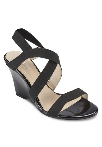 Vicky 多帶楔型跟涼鞋、 女鞋、 鞋VelvetVicky多帶楔型跟涼鞋最新折價