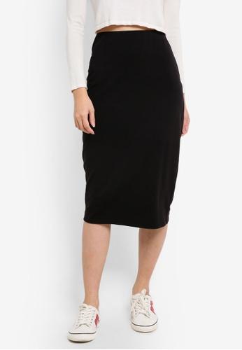 ZALORA black Basic Bodycon Skirt 38FA4ZZ0333148GS_1