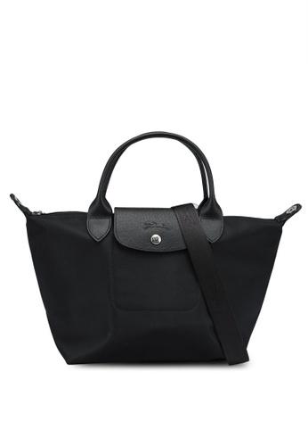 LONGCHAMP black Le Pliage Néo Top Handle Bag S (nt) 702D6AC4B6B350GS_1