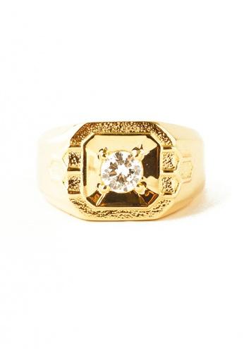 CEBUANA LHUILLIER JEWELRY gold 14 Karat Yellow Gold Ring with Diamonds 851F9AC952C0BBGS_1