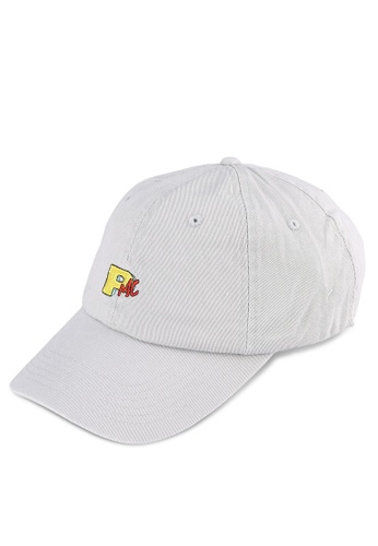 Pestle & Mortar grey PMTV 6 Panel Cap PE354AC0RXN1MY_1