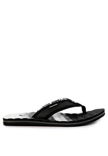 3SECOND black Men Slippers 0701 0D3CASH2730D2CGS_1
