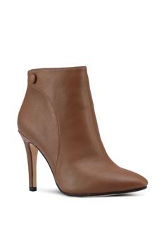 e4ed51f41467 ZALORA Heeled Ankle Boots RM 140.60. Sizes 35 36 37