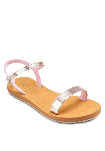 Emma 亮面esprit台灣outlet繞踝涼鞋, 女鞋, 涼鞋