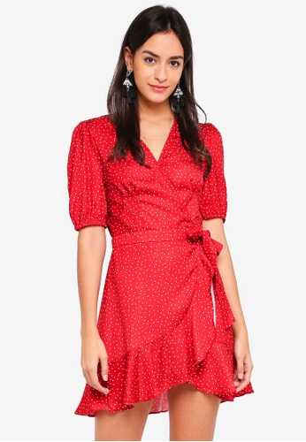 The Fifth Label blue Rooftop Polka Dot Dress 1CA55AAEF58A96GS_1