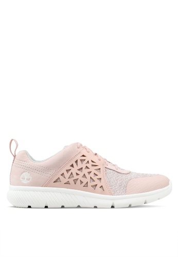 Timberland pink Boltero Low Sneakers FF614SH51A1F6AGS_1