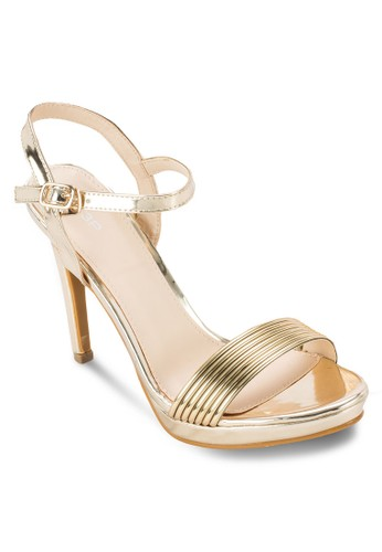 一字帶厚底高跟涼esprit招聘鞋, 女鞋, 鞋