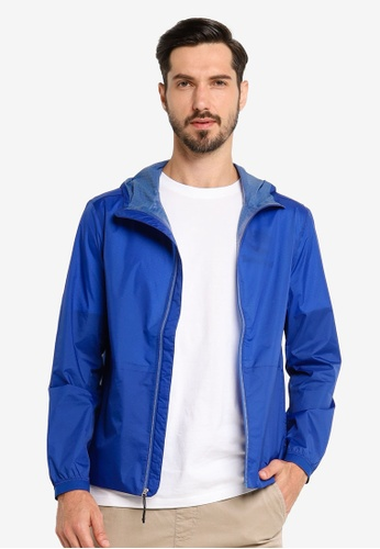 Timberland blue Mount Hancock Packaway Hoodie With Dryvent™ Technology 59254AAE2DD652GS_1