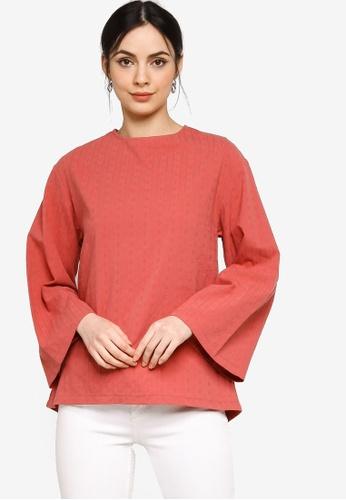 ZALIA BASICS pink Long Sleeve Basic Top BF153AA4204E78GS_1