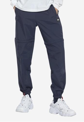 FILA navy Korea Collection Unisex Separable Pants B832EAAD943F24GS_1
