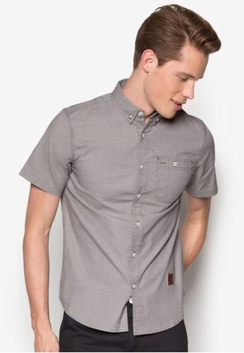 Short Sleeve Woven Shirt, 服飾, 襯esprit outlet 高雄衫