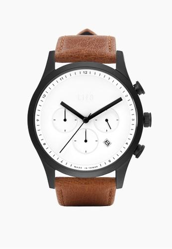 Life8 black Formal Vintage Fashion Watch-05309-Black 0B769AC3F4B251GS_1