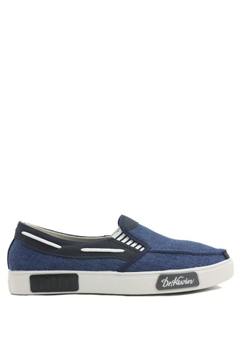 Dr. Kevin blue Dr.Kevin Men Casual Shoes Slip On 13279 - Blue DR982SH40LYXID_1