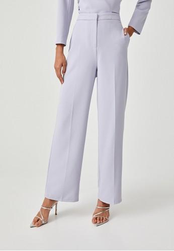 Love, Bonito purple Kaleigh Straight Leg Pants 725BAAAB4EDE57GS_1
