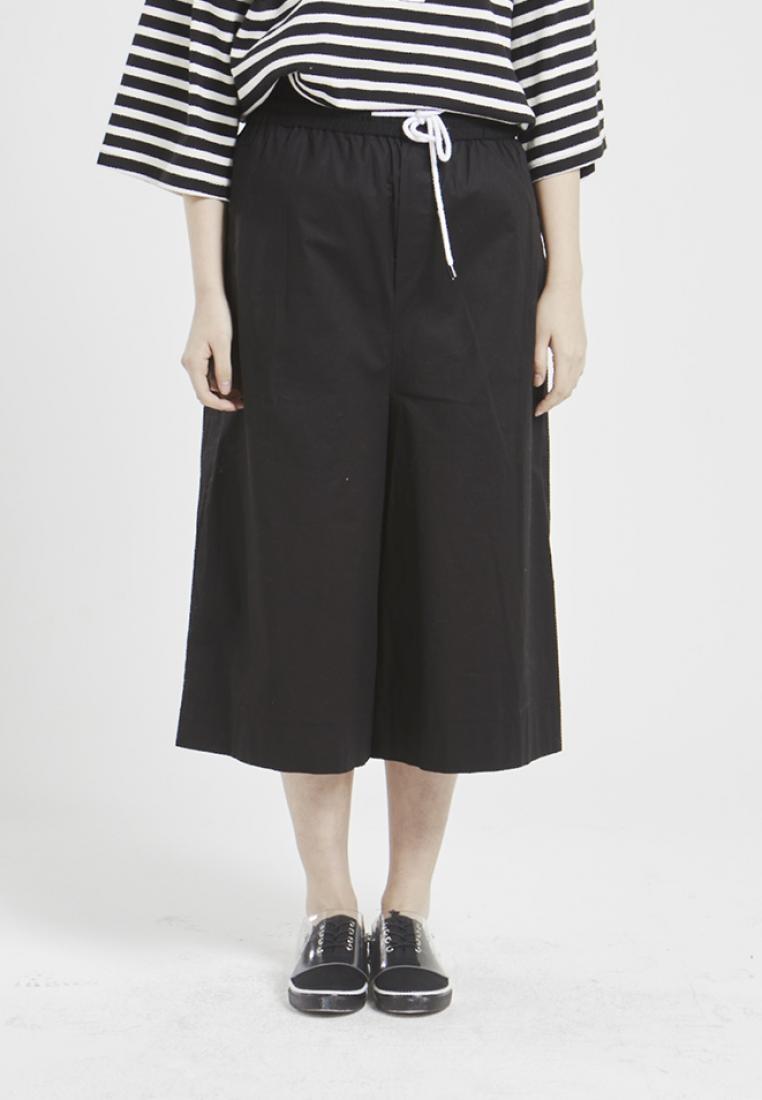 10 7 Pocket NINETEENEIGHTY Back Black Pants Fit Over 5fCwxa