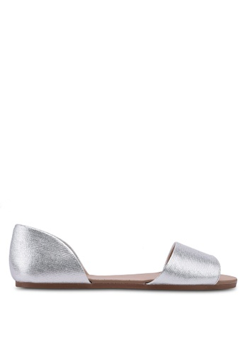 Call It Spring silver Beillan Ballerina Sandals D5FF9SH6FAFB14GS_1
