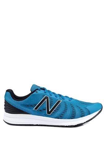 New Balance blue Fuel Core Rush V3 Shoes 8C68BSHDE42F3AGS_1