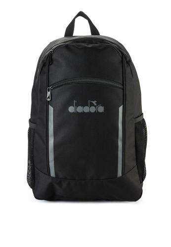 Diadora black Backpack 8402 51657AC1107F3DGS_1