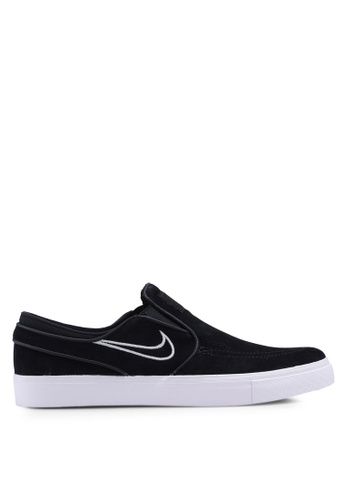 Nike black Nike SB Zoom Stefan Janoski Slip Shoes 9AB2ESH3CC0E29GS_1