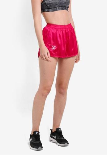 FBT pink Straight Cut Running Shorts FB961AA82EYRMY_1