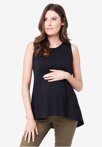 Ripe Maternity black Maternity Maison Tank 575DEAA7C5F302GS_1