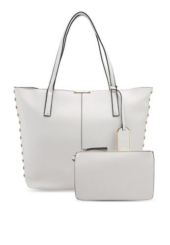 ALDO white Romeu Handbag 097D8ACB211EC9GS_1
