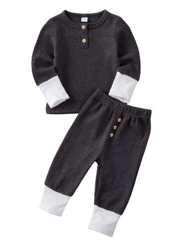 RAISING LITTLE grey Archer Loungewear E253DKA2A32591GS_1