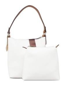 b3883614760f ... Barbara Polo   Racquet Club Nylon Shoulder Bag with Embroidery S   129.00 · Faux Leather Bag-In-Bag Single Handle Shoulder Bag  3EAAEACE9D76E3GS 1