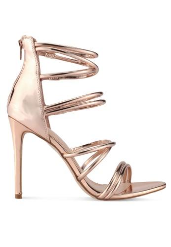 ALDO gold Onianiel Heels A7E5CSHF54D6A8GS_1