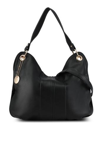 Perllini&Mel black Faux Leather Single Handle Bag PE444AC0SBLBMY_1