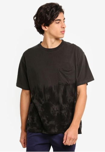 Cotton On 黑色 品牌刺繡T恤 B5CEFAA077176EGS_1