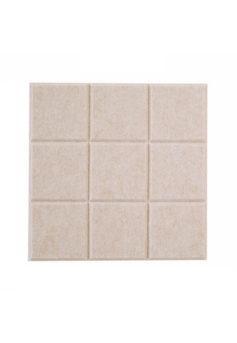 DILAS HOME Felt Tile Pinboard (Beige) 157AAHLC2F836AGS_1