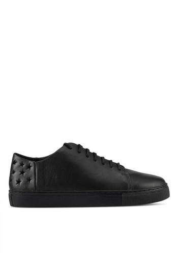 E8 by Miista black Hera Star Cut Out Sneakers E8283SH0STIDMY_1