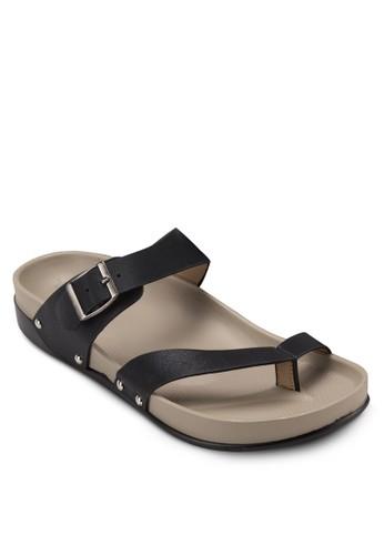 雙寬esprit暢貨中心帶夾腳涼鞋, 女鞋, 涼鞋