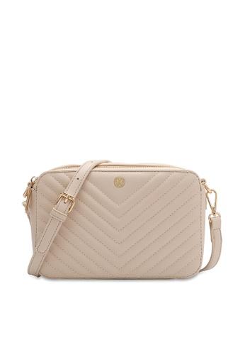 Volkswagen beige Women's Sling Bag / Crossbody Bag / Chest Bag CA4BDAC201E9F6GS_1