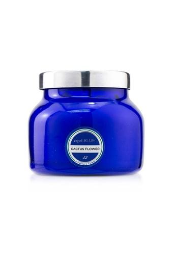 Capri Blue CAPRI BLUE - Blue Jar Candle - Cactus Flower 226g/8oz 87153HL6FD0BEFGS_1