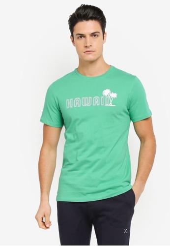 JAXON green Hawaii Tee 07E71AAE147ACAGS_1