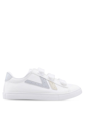 Kolca grey and white Swallow Sneakers 0DE2DSHF33A674GS_1