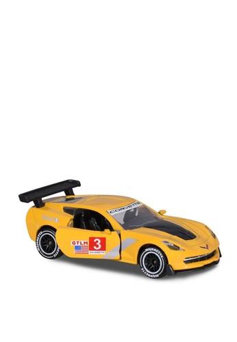 Majorette yellow Majorette Racing Cars Chevrolet Corvette No 3 - Yellow 89837THF8BC54FGS_1
