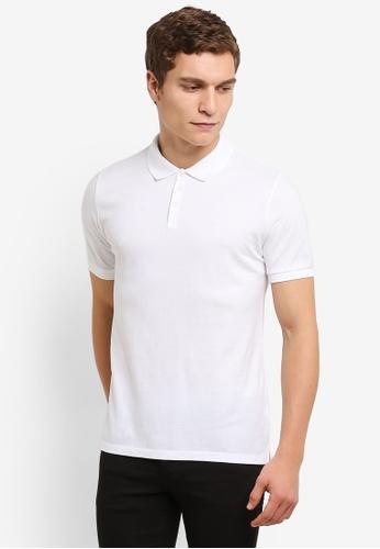 Calvin Klein white As-Paul Polo Shirt - Calvin Klein Jeans CA221AA0RWSPMY_1
