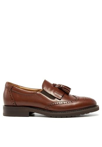 Twenty Eight Shoes Leather Tassel Loafer YM21047 68743SHF76E911GS_1