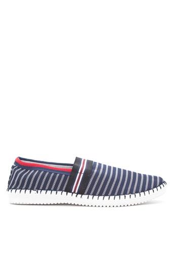 Preview blue Slip On Sneakers PR211SH35GOEPH_1