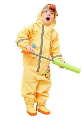 Twenty Eight Shoes yellow VANSA Cartoon One-piece Raincoat VCK-R19418 FA7A7KA9129430GS_1