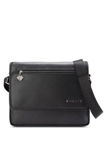 Playboy black Playboy Bag PL371AC75LYYMY_1