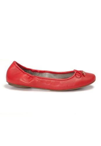 Shu Talk orange AMAZTEP New Comfortable Leather Ballerina Ballet Flats 0CBC3SHB32F728GS_1